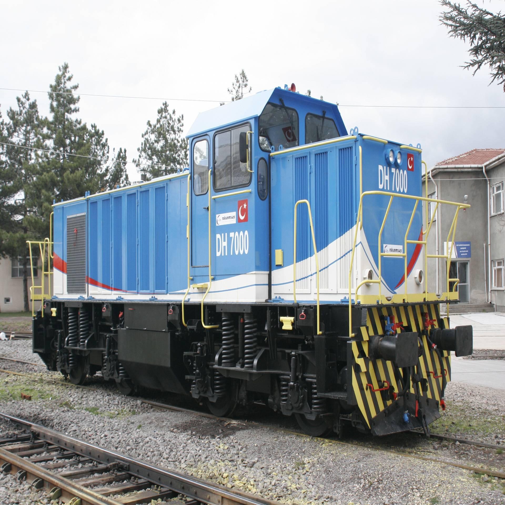 DH7000 Manevra Lokomotifi