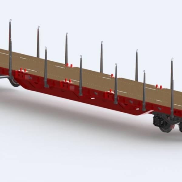 Hafifletilmiş Platform Vagonu